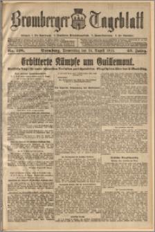 Bromberger Tageblatt. J. 40, 1916, nr 198