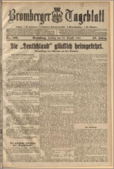 Bromberger Tageblatt. J. 40, 1916, nr 199