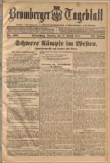 Bromberger Tageblatt. J. 40, 1916, nr 201
