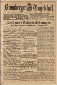 Bromberger Tageblatt. J. 40, 1916, nr 202