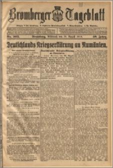 Bromberger Tageblatt. J. 40, 1916, nr 203