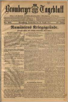 Bromberger Tageblatt. J. 40, 1916, nr 204