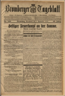 Bromberger Tageblatt. J. 40, 1916, nr 206