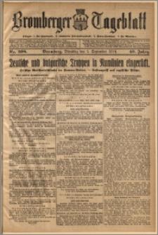 Bromberger Tageblatt. J. 40, 1916, nr 208