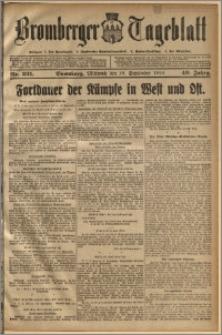 Bromberger Tageblatt. J. 40, 1916, nr 221
