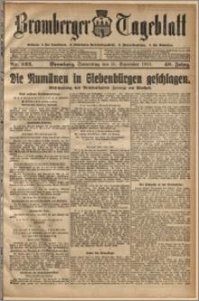 Bromberger Tageblatt. J. 40, 1916, nr 222