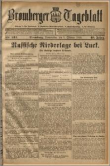 Bromberger Tageblatt. J. 40, 1916, nr 234