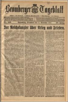 Bromberger Tageblatt. J. 40, 1916, nr 266