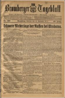 Bromberger Tageblatt. J. 40, 1916, nr 267