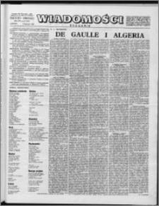 Wiadomości, R. 14 nr 45 (710), 1959