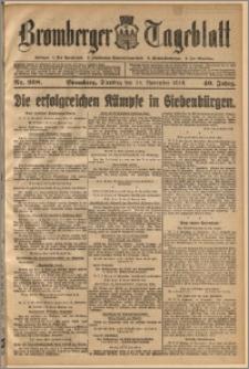 Bromberger Tageblatt. J. 40, 1916, nr 268