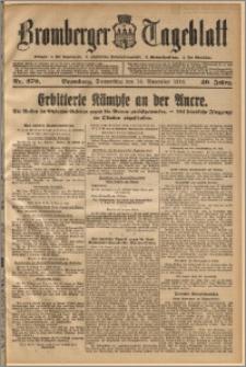 Bromberger Tageblatt. J. 40, 1916, nr 270