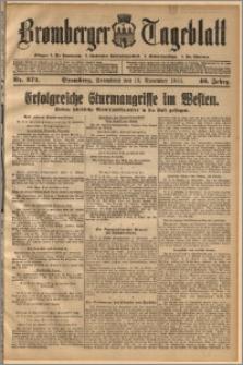 Bromberger Tageblatt. J. 40, 1916, nr 272