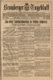 Bromberger Tageblatt. J. 40, 1916, nr 274