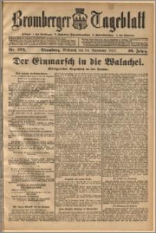 Bromberger Tageblatt. J. 40, 1916, nr 275