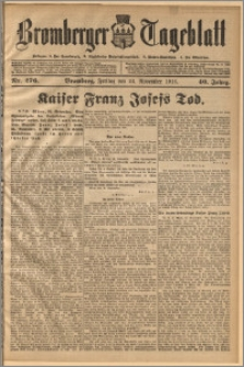 Bromberger Tageblatt. J. 40, 1916, nr 276