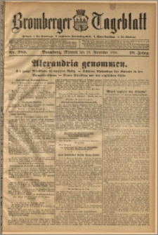 Bromberger Tageblatt. J. 40, 1916, nr 280