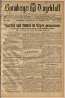 Bromberger Tageblatt. J. 40, 1916, nr 281