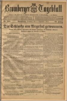Bromberger Tageblatt. J. 40, 1916, nr 285