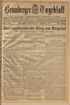Bromberger Tageblatt. J. 40, 1916, nr 286