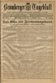Bromberger Tageblatt. J. 40, 1916, nr 294