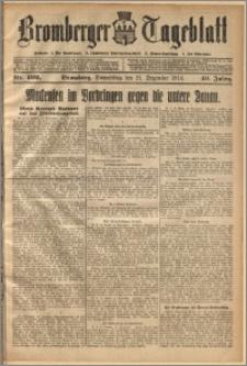 Bromberger Tageblatt. J. 40, 1916, nr 299