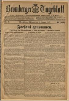 Bromberger Tageblatt. J. 41, 1917, nr 7