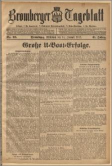 Bromberger Tageblatt. J. 41, 1917, nr 25