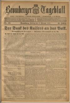 Bromberger Tageblatt. J. 41, 1917, nr 27
