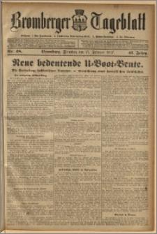 Bromberger Tageblatt. J. 41, 1917, nr 48