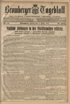 Bromberger Tageblatt. J. 41, 1917, nr 51