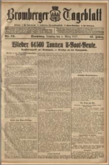 Bromberger Tageblatt. J. 41, 1917, nr 53