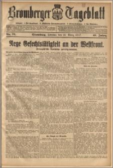 Bromberger Tageblatt. J. 41, 1917, nr 71