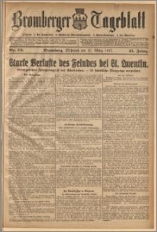 Bromberger Tageblatt. J. 41, 1917, nr 73
