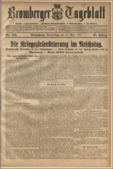 Bromberger Tageblatt. J. 41, 1917, nr 114