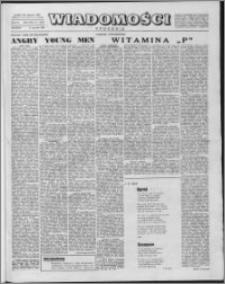 Wiadomości, R. 13 nr 1 (614), 1958