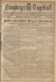 Bromberger Tageblatt. J. 41, 1917, nr 193