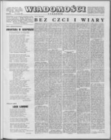 Wiadomości, R. 13 nr 4 (617), 1958