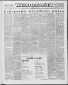 Wiadomości, R. 13 nr 5 (618), 1958
