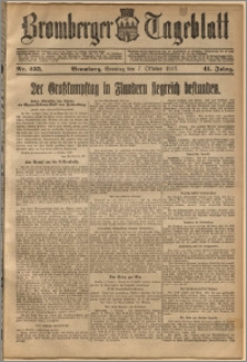 Bromberger Tageblatt. J. 41, 1917, nr 235