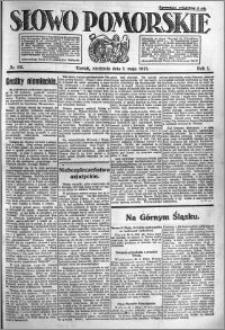 Słowo Pomorskie 1921.05.01 R.1 nr 99