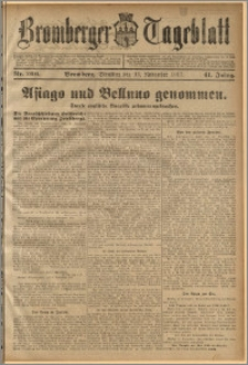 Bromberger Tageblatt. J. 41, 1917, nr 266