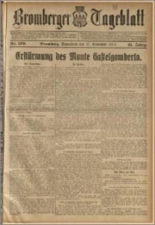 Bromberger Tageblatt. J. 41, 1917, nr 270