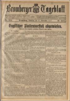 Bromberger Tageblatt. J. 41, 1917, nr 272