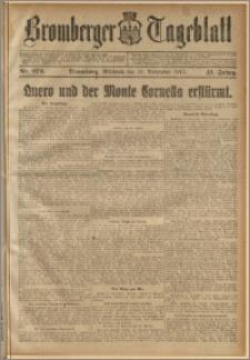 Bromberger Tageblatt. J. 41, 1917, nr 273