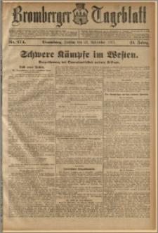 Bromberger Tageblatt. J. 41, 1917, nr 274