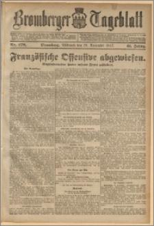 Bromberger Tageblatt. J. 41, 1917, nr 278
