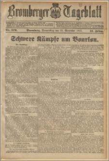 Bromberger Tageblatt. J. 41, 1917, nr 279