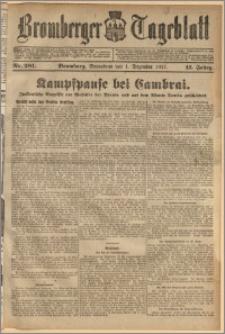 Bromberger Tageblatt. J. 41, 1917, nr 281
