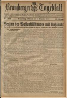 Bromberger Tageblatt. J. 41, 1917, nr 284